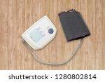 blood pressure measuring...   Shutterstock . vector #1280802814