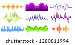 vector set of different music... | Shutterstock .eps vector #1280811994