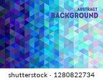 trendy geometric background....