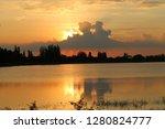 sunset sundown goodbye   Shutterstock . vector #1280824777