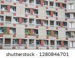 facade of george loveless house ...   Shutterstock . vector #1280846701