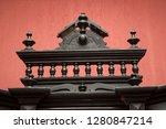 old  antique  vintage ... | Shutterstock . vector #1280847214