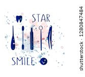 vector lettering is suitable...   Shutterstock .eps vector #1280847484
