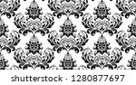 wallpaper in the style of... | Shutterstock . vector #1280877697