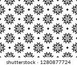 flower geometric pattern.... | Shutterstock . vector #1280877724