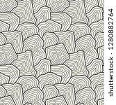 vector seamless pattern.... | Shutterstock .eps vector #1280882764