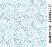 vector seamless pattern.... | Shutterstock .eps vector #1280882767