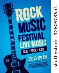 vector illustration blue rock... | Shutterstock .eps vector #1280908651