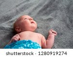 close up on newborn baby on the ... | Shutterstock . vector #1280919274
