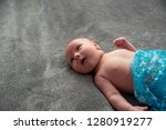 close up on newborn baby on the ... | Shutterstock . vector #1280919277