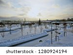moscow   january 10  2019 ... | Shutterstock . vector #1280924194