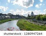 july 2  2018   street view in... | Shutterstock . vector #1280947264