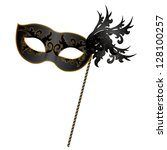 vector illustration of black... | Shutterstock .eps vector #128100257