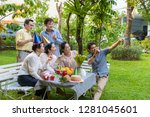 a group of asian seniors are...   Shutterstock . vector #1281045601