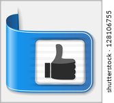 thumbs up icon  vector eps10...