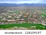 Aerial View Of Scottsdale ...