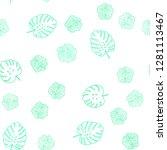 light green vector seamless... | Shutterstock .eps vector #1281113467