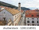 croatia  dubrovnik   december... | Shutterstock . vector #1281118531