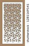 art gradient sheet.laser... | Shutterstock .eps vector #1281169141