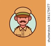 Indian Policeman Vector Design...