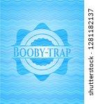 booby trap sky blue water... | Shutterstock .eps vector #1281182137