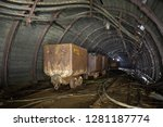 Mine Carts In Mine In Slovakia  ...