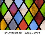 Stained Glass Window Of Colore...