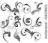 vector design elements   Shutterstock .eps vector #128138021