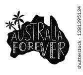 australia day celebration.... | Shutterstock .eps vector #1281395134