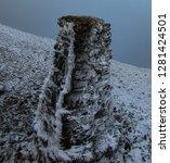 Helvellyn Frosty Summit