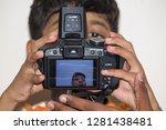 chennai purasaiwakkam  tamil... | Shutterstock . vector #1281438481