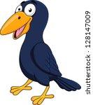 raven cartoon | Shutterstock .eps vector #128147009