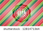 clinic history icon inside...   Shutterstock .eps vector #1281471364