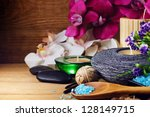 spa and wellness setting | Shutterstock . vector #128149715