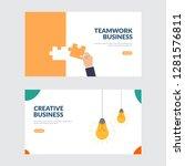creative and teamwork business...   Shutterstock .eps vector #1281576811