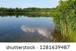 lake with reflection | Shutterstock . vector #1281639487