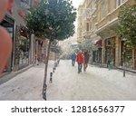 beyoglu  istanbul  turkey  ... | Shutterstock . vector #1281656377