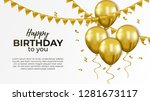 happy birthday celebration... | Shutterstock .eps vector #1281673117