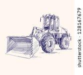 Loader Bulldozer Excavator...