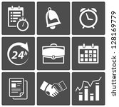 vector business time and... | Shutterstock .eps vector #128169779