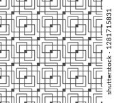 seamless geometric pattern.... | Shutterstock .eps vector #1281715831