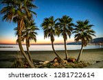 beautiful mediterranean beach... | Shutterstock . vector #1281722614
