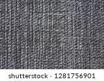 superlative grey fabric texture.... | Shutterstock . vector #1281756901