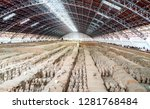 xi'an  shaanxi province  china  ... | Shutterstock . vector #1281768484