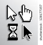 cursor set eps10 | Shutterstock .eps vector #128177357