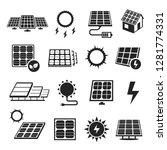 Solar Panels Technology  Black...