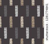 ethnic boho seamless pattern....   Shutterstock .eps vector #1281774841