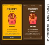 french fries recipe app...