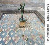 pompeii  italy   aug 2  1998 ... | Shutterstock . vector #1281813991