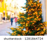 abstract christmas background... | Shutterstock . vector #1281864724